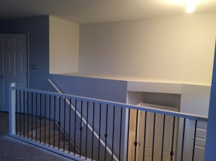 Railing and Flex Space